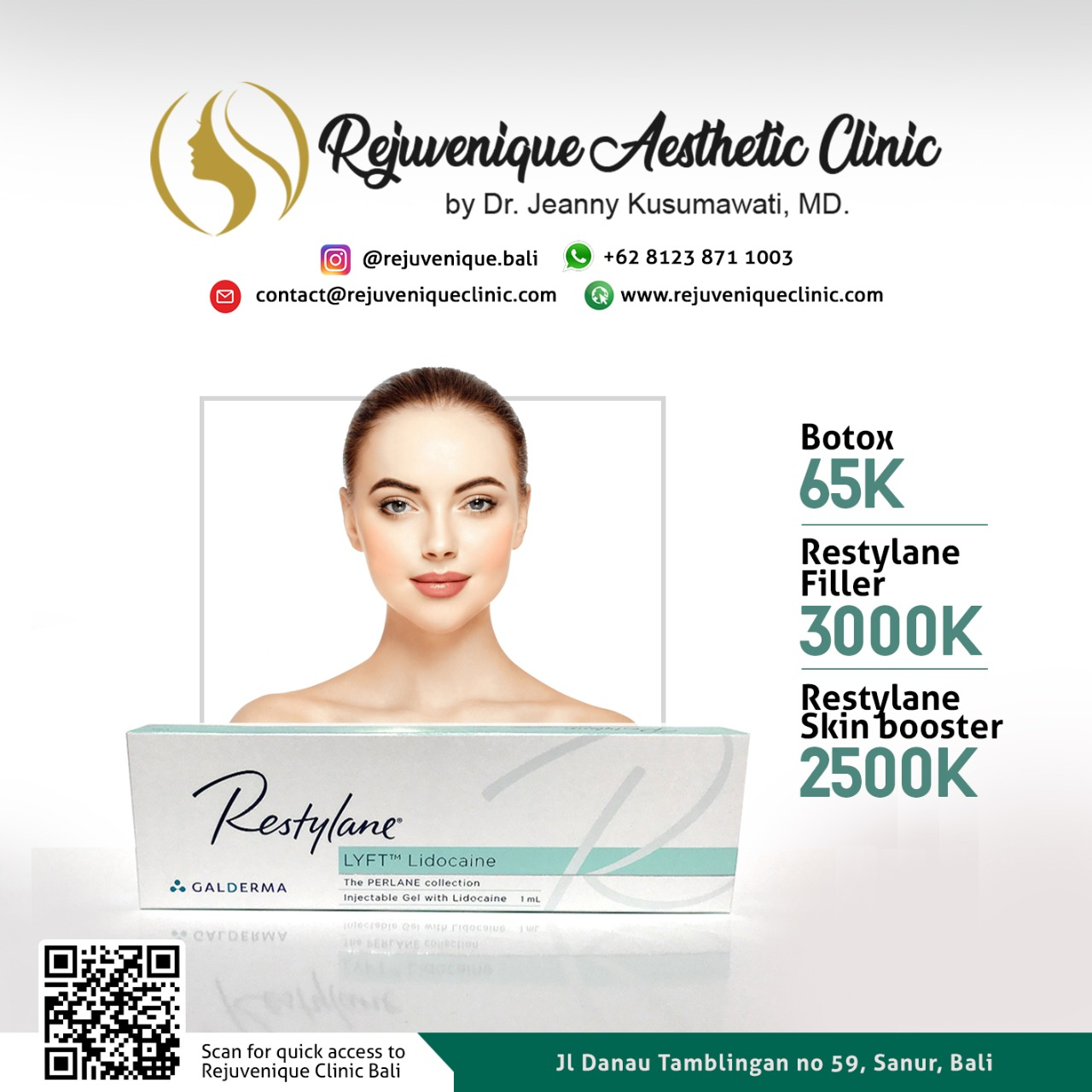 Botox In Bali | Medical Spa In Bali | Thread Lift | Rejuveniqueclinic